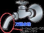 オートストッパー付き水栓ジョイント