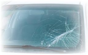 フロントガラスの破損