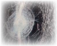 合わせガラスの破損