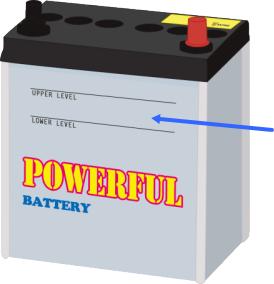 バッテリー液チェック