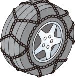 亀甲型タイヤチェーン