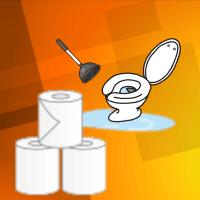 トイレットペーパーの大量使用は、トイレつまりにつながります。