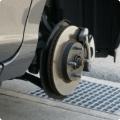 タイヤを取り外した状態