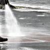 排水管 高圧洗浄作業